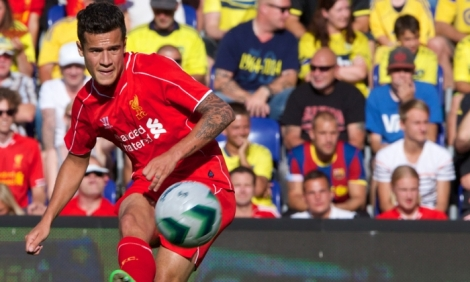 Coutinho ran the show in midfield