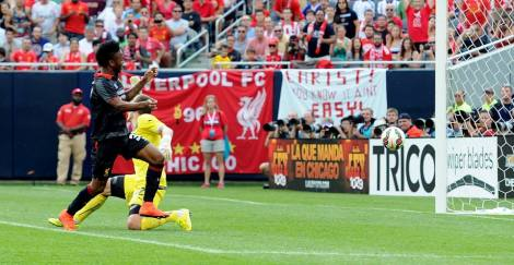 Sterling scored the only goal of the game