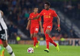 Ejaria made his Liverpool debut off the bench