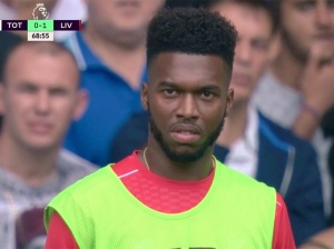 Much was made of Sturridge's reaction when Origi came on of the bench before him